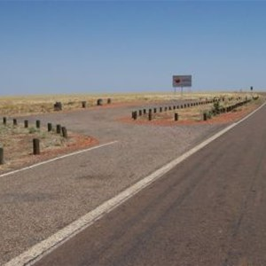 Barkly Highway NT/QLD Border