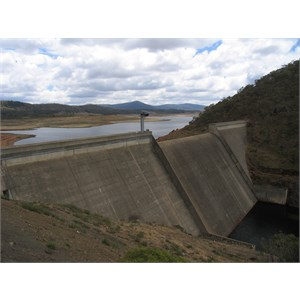 A concrete gravity dam