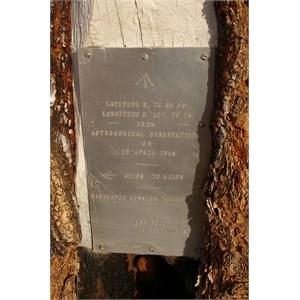 Len Beadell Plaque No. 1