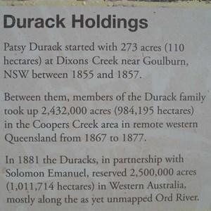 Durack Monument