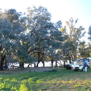 Trilby camp - down by the billabong