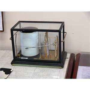 19th century Barograph still in use and very accurate