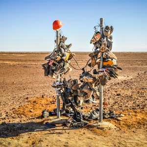 Roadside Artifacts on Road to Boulia
