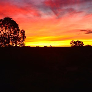 Tjukayirla Sunset