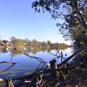 Dawn breaks at the Billabong (Outback Australia)