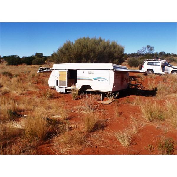 Caravan wreck