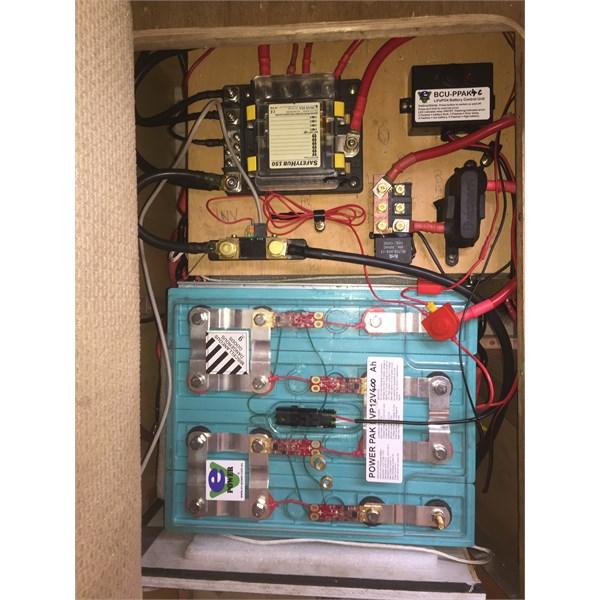 Ev powerpack 400ah install