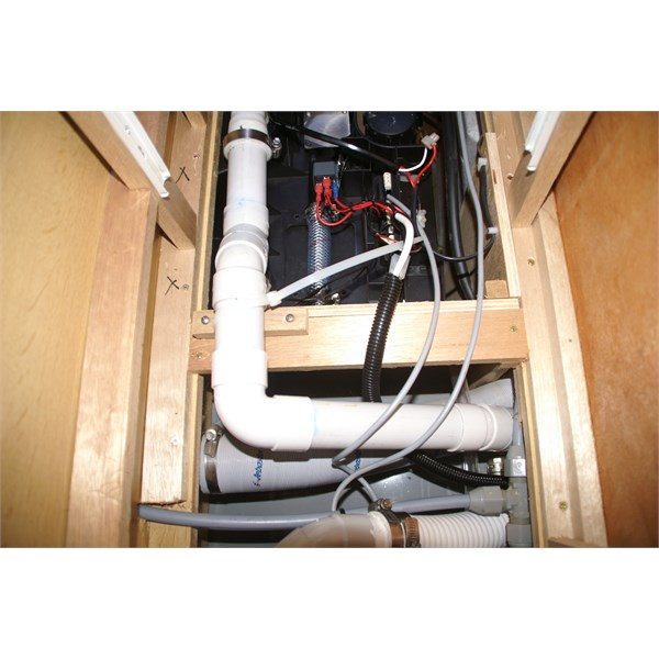 Another angle of modifications and pipework