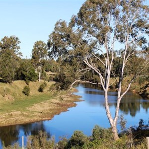 The Mary River at the rest area