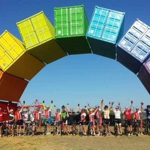Rainbow Sea Containers Freo