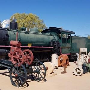 Steam engine in museum