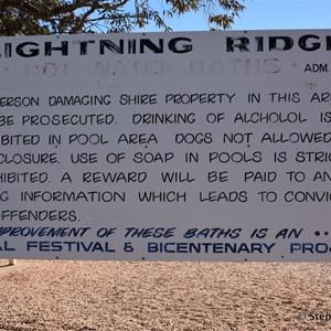 Lightning Ridge Bore Baths