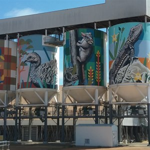 Newdegate Painted Silo