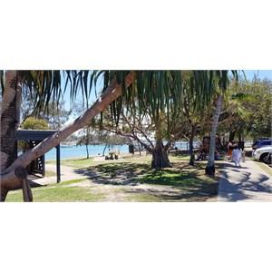 A view of La Balsa Park
