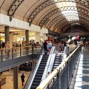 Main upper mall area