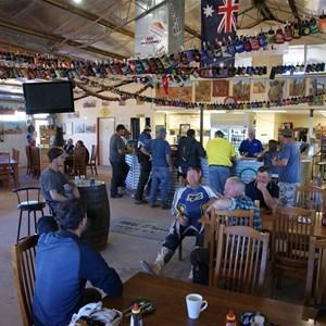 Mt Dare Pub inside