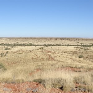 Nicker Creek mid-ground in photo with Brookman Waters in distant background