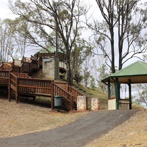 The viewing point at Cunninghams Rise Lookout