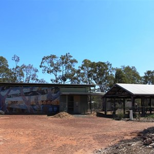 The gallery and picnic area