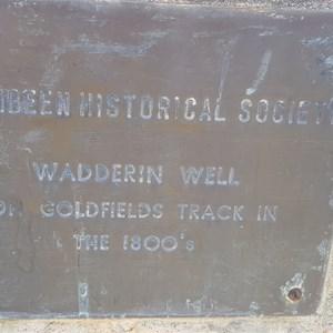 Wadderin Well