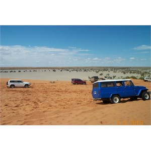"""Big Red"" sand dune outside Birdsville"