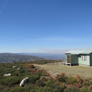 Fire observers cabin, view north