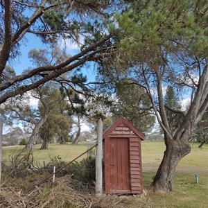 Currango Tennis Club Toilet