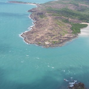 Aerial Photo of the Tip of Cape York