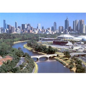 Melbourne Cityscape