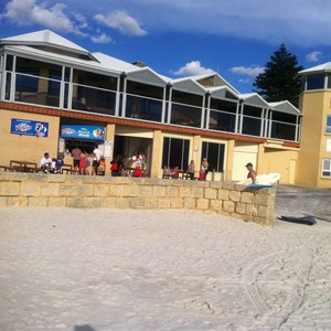 Surf Club from beach