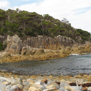 Inlet at Mimosa Rocks