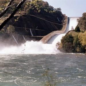 Spill Oct 1992 at 150 cumecs