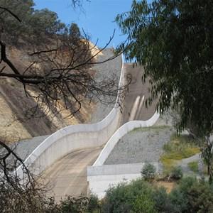 Spillway upgrade completed 2010
