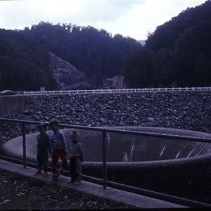 Bellmouth spillway 32m diameter