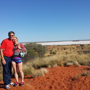 Mt Connor lookout NT
