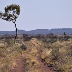 Looking north along Gary Highway