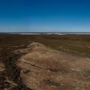 McDermid Rock Arial Panorama