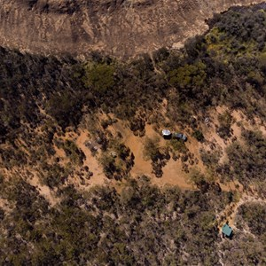 Arial View of Camping Area/Car Park