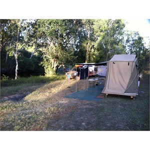 The Bend camp site