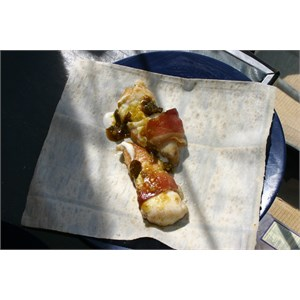 Chill bacon fish wraps